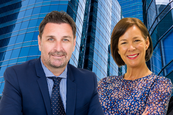 Peter Marsh and Laura Brown, Client Services Directors