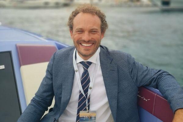 Ian Petts at the Monaco Yacht Show 2021
